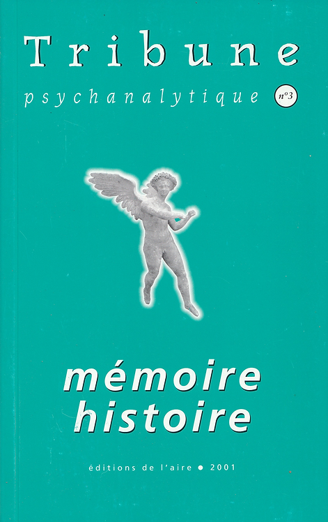 Tribune psychanalytique n° 3