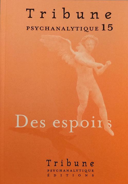 Tribune psychanalytique n° 15 : prix souscripteur