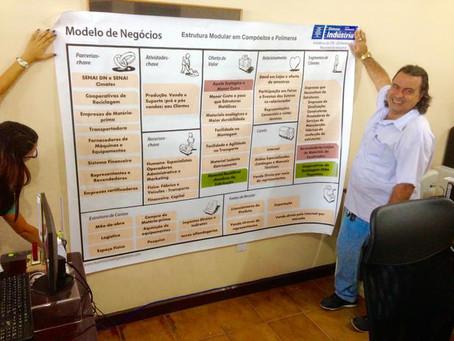 Aluno RBA GI usa Modelagem de Negócios - BMC e aprova projeto