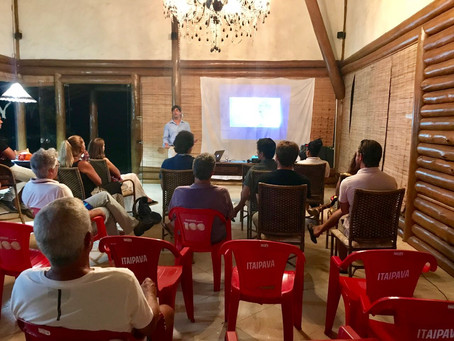 Palestra sobre Inteligência de Marketing & Revenue Management em Barra Grande