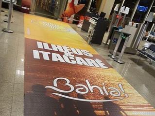 Promoção de Ilhéus e Itacaré realizada pela Secretaria Estadual de Turismo