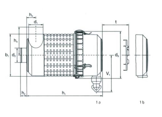 Plastic Air Filter Assembly