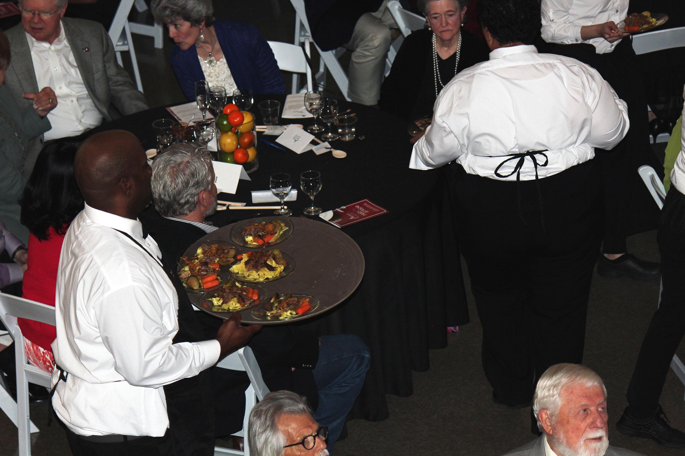 servers with roast