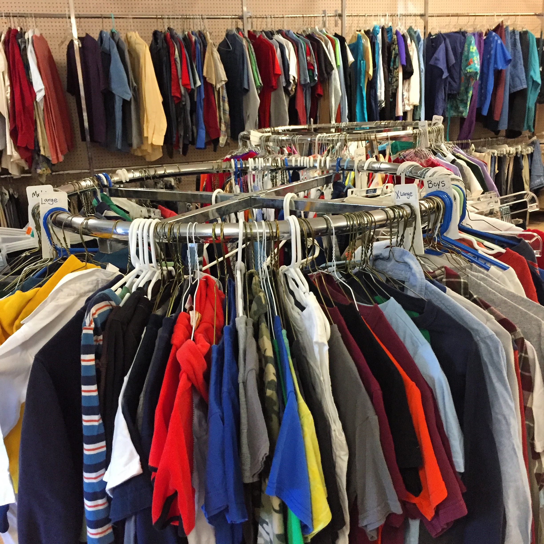 Arlington charities clothing closet