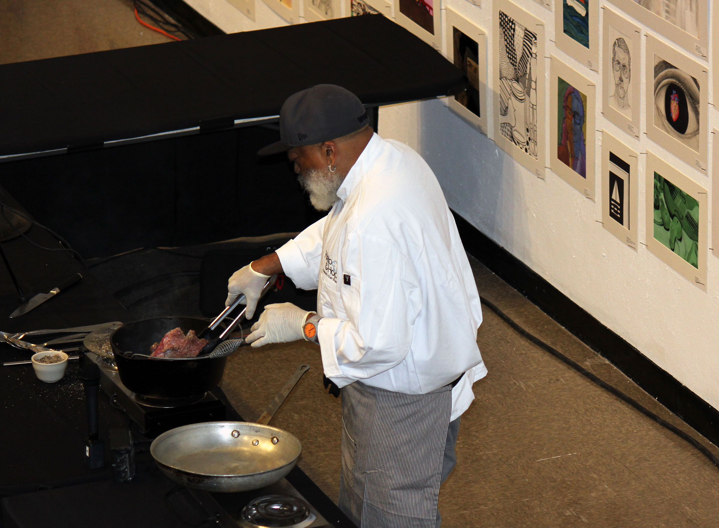 flipping the pot roast 2