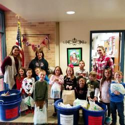 Elementary School Donation Drive