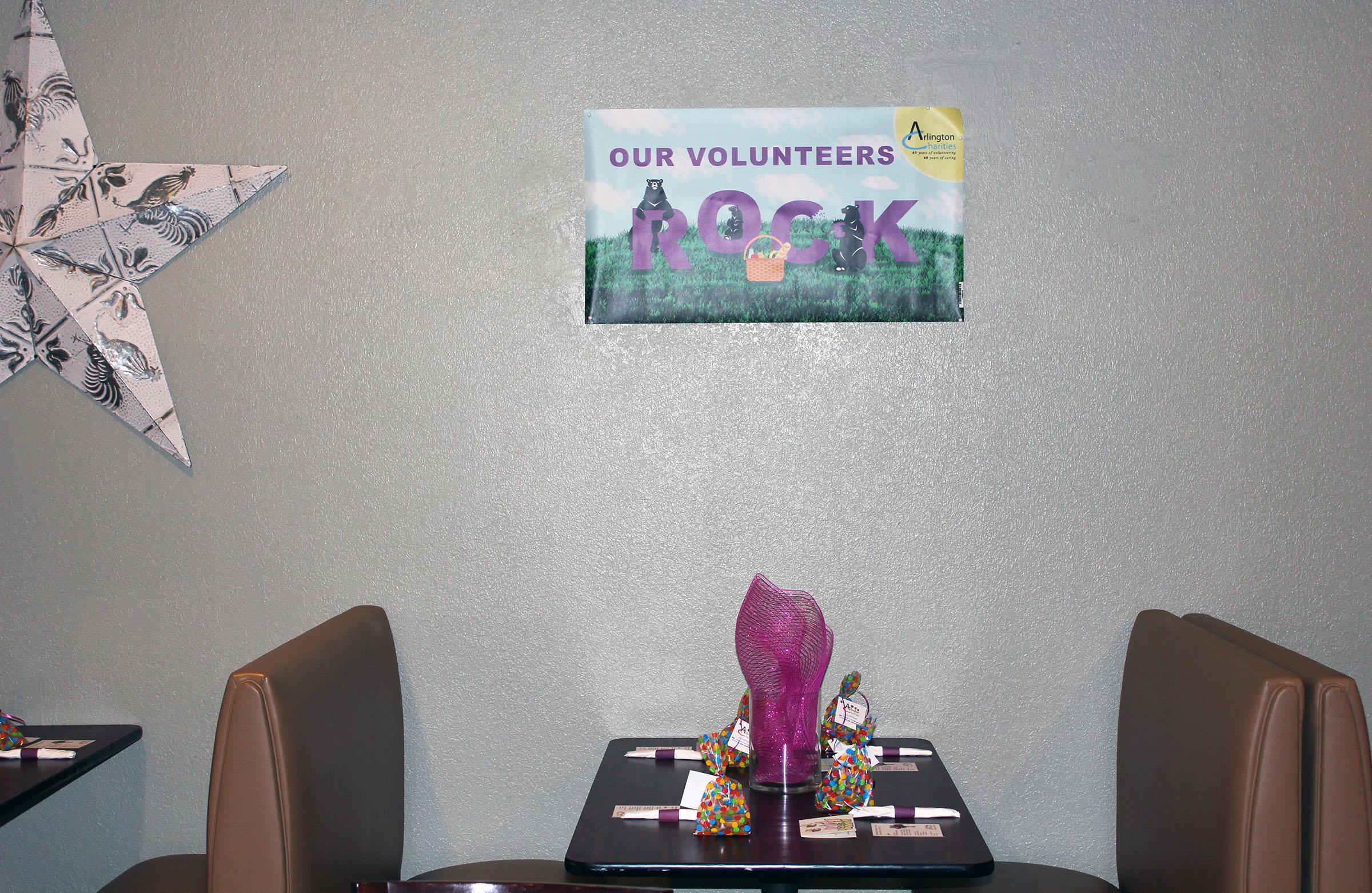 our volunteers rock