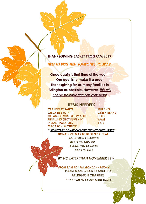 Thanksgiving Basket Program Flyer 2019.j