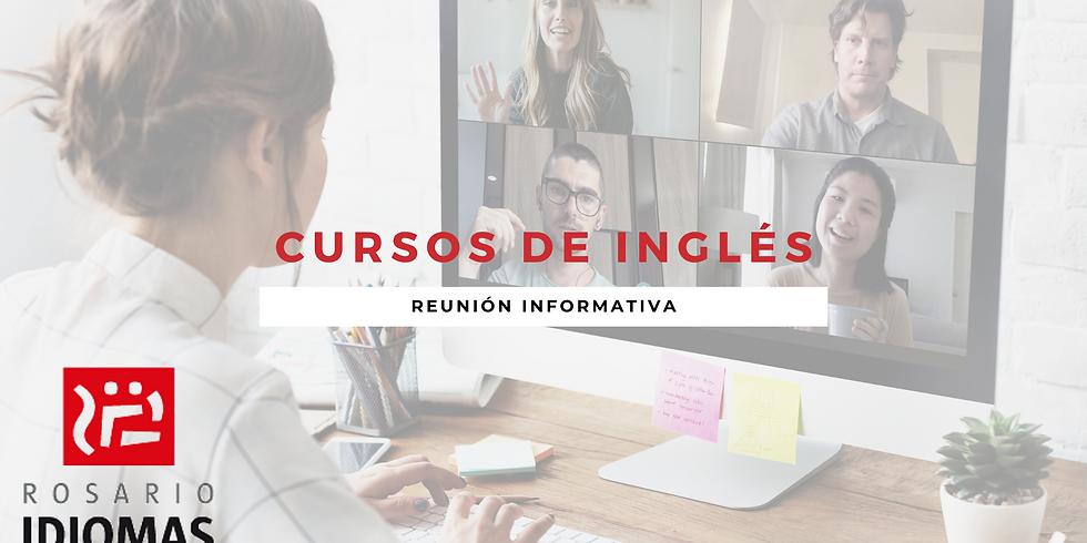 Reunión informativa - Cursos de Inglés Verano 2021