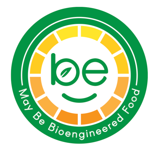 United States Department of Agriculture logo for bioengineered food.