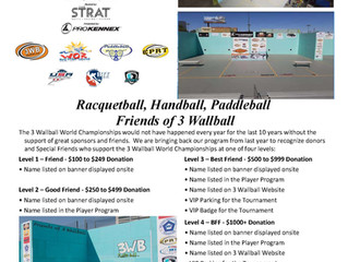 Become a Friend of 3WallBall