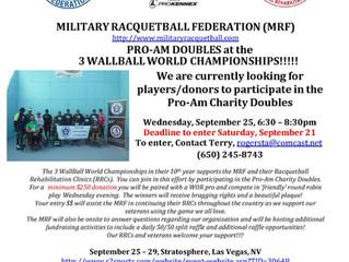 MRF Pro-Am at 3WallBall