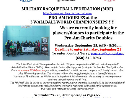 MRF Pro-Am at 3WallBall