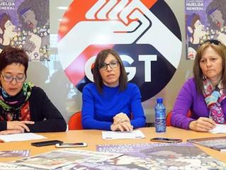 La CGT recuerda que la Huelga General de 24h del 8M es legal