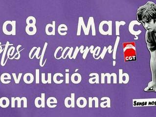 Huelga Feminista 2018#8M Camp de Morvedre