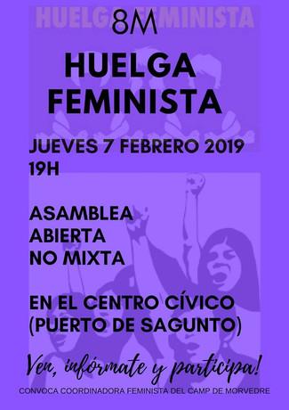 Asamblea feminista abierta no mixta