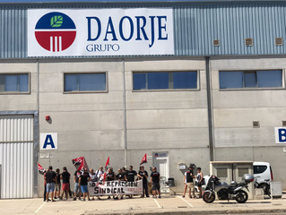 Concentración: no a la represión sindical en Daorje