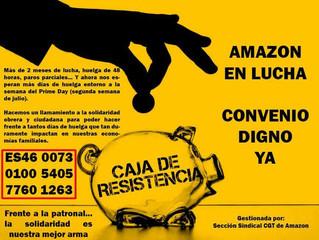 Llamamiento a la solidaridad y apoyo mutuo con la lucha en Amazon