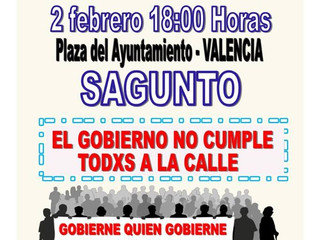 #2F Autobús a Valencia #PensionesDignas