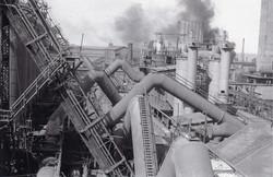 Altos Hornos. Zona de depuración de gases
