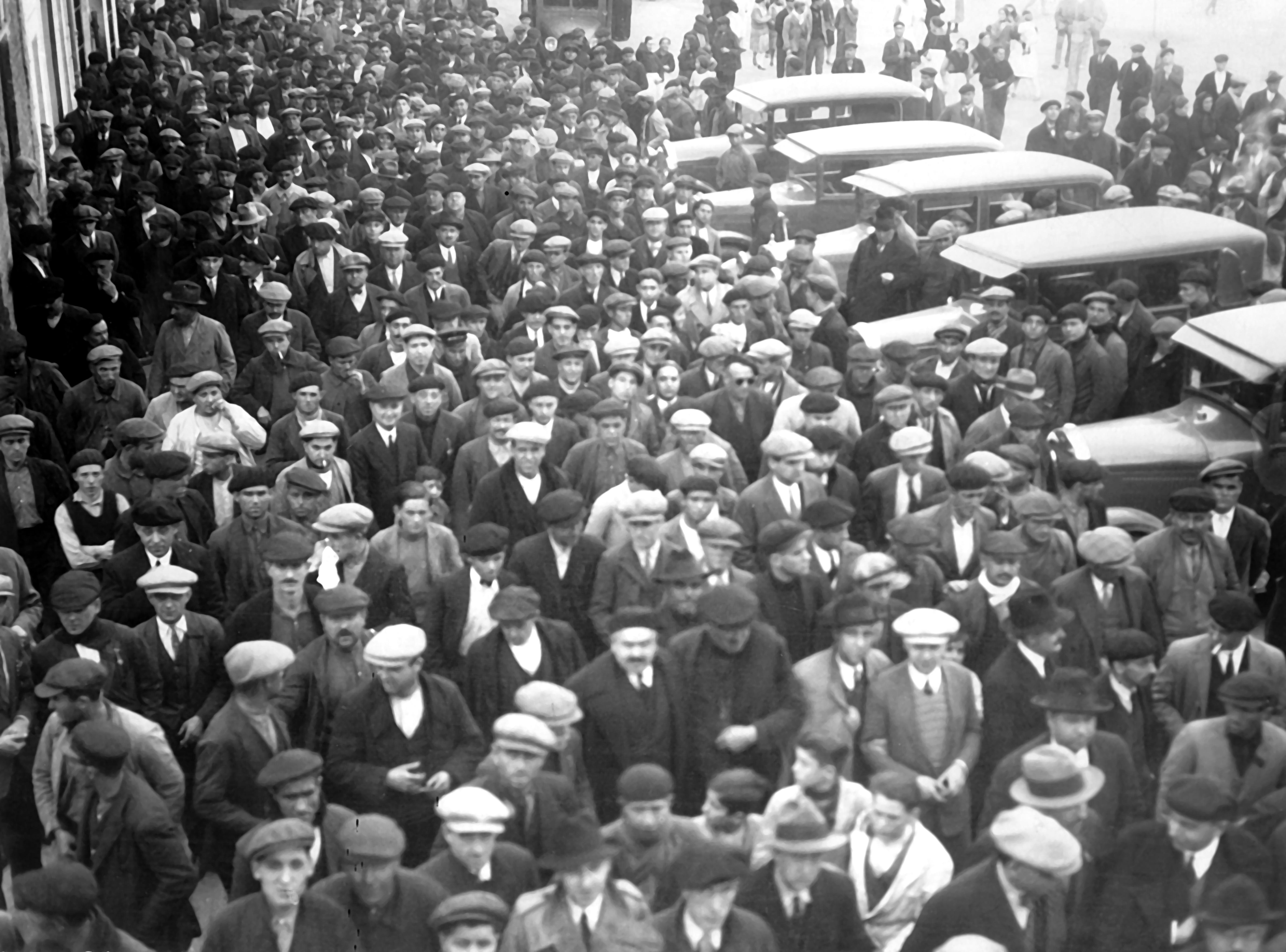Manifestación Sagunto 1933
