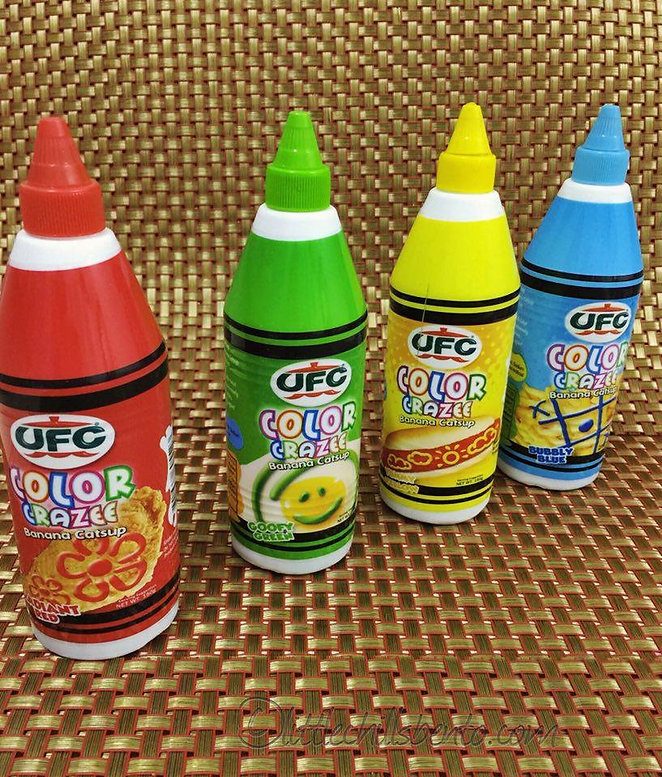 The Little Chills Color Crazee Banana Ketchup