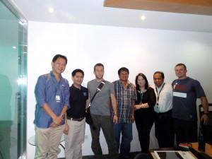 The Team Rubicon, Tao Corp. Pilipinas911 crew swinging into action