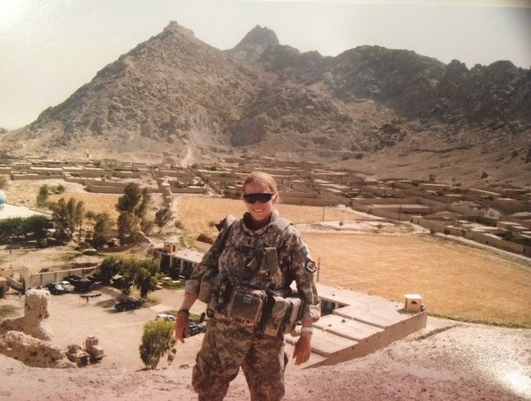 Courtney Wilson Babson MBA Candidate and Combat Veteran