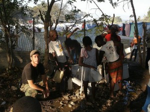 Building a water purification system for 10,000 people in IDP camp in Haiti working with Hope for Haiti and OXFAM