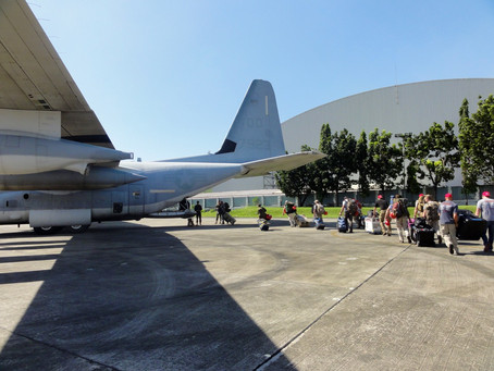 Immediate deployment to Philippines