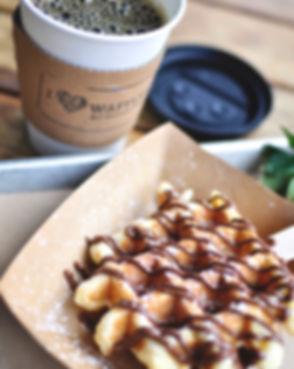 Press Waffle Co. - Liege Waffle and Nute