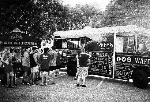 Press Waffle Co. Food Truck 2016