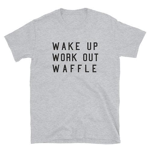 Wakeup Workout Waffle Tee