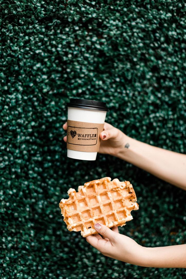 Press Waffle Co. Liége Waffles and Locally Roasted Coffee