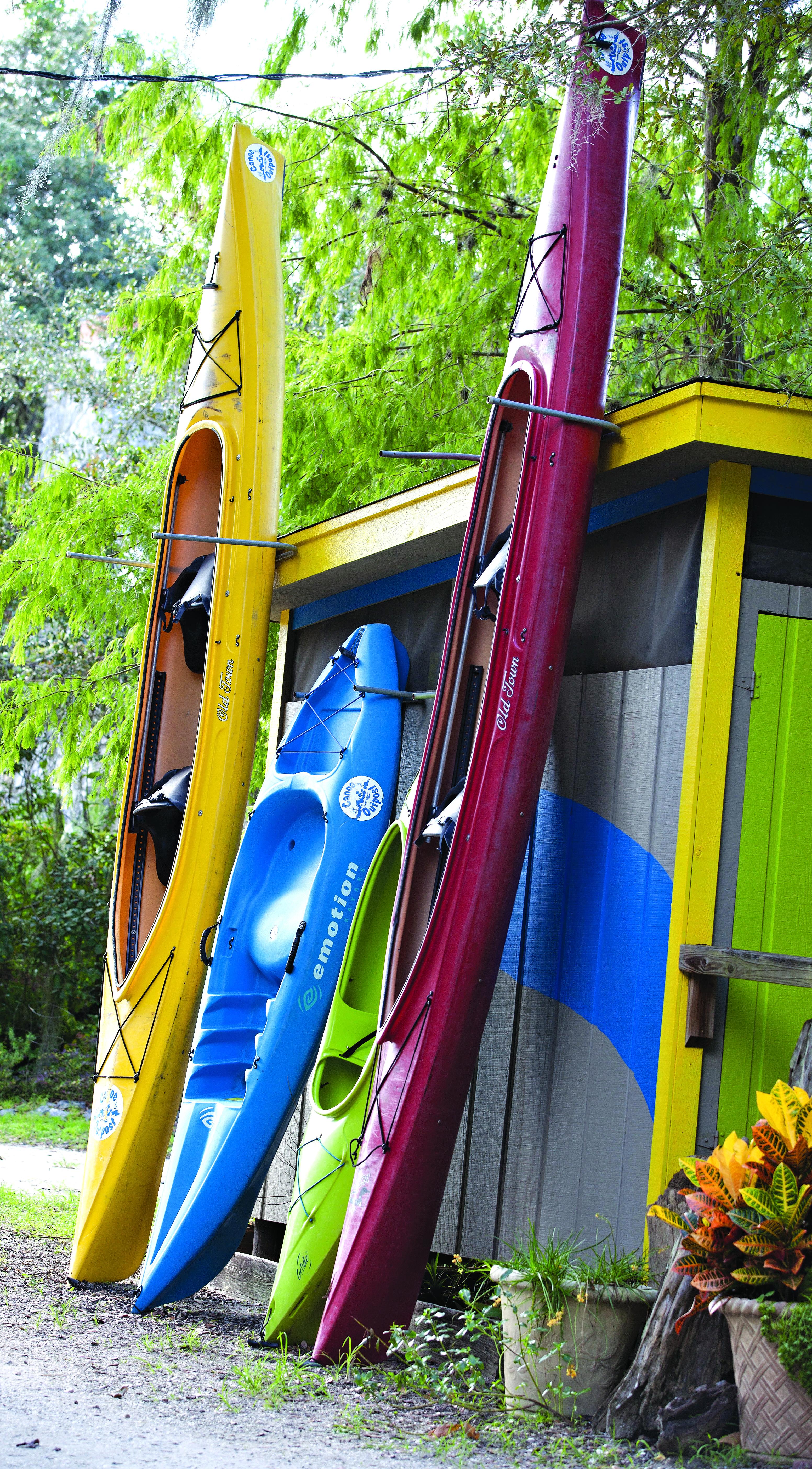 Canoe & Kyak Trips
