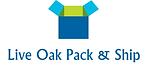 LIVE OAK PACK & SHIP LOGO-Small-WhiteBG.