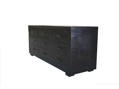 Bambu Nine Drawer Dresser