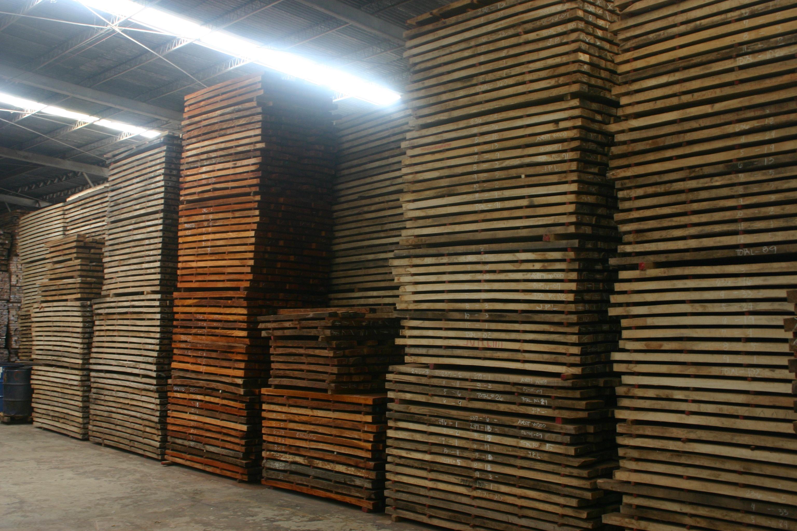 Lumber inventory