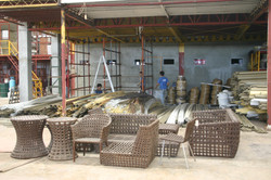 outdoor furniture fabrication