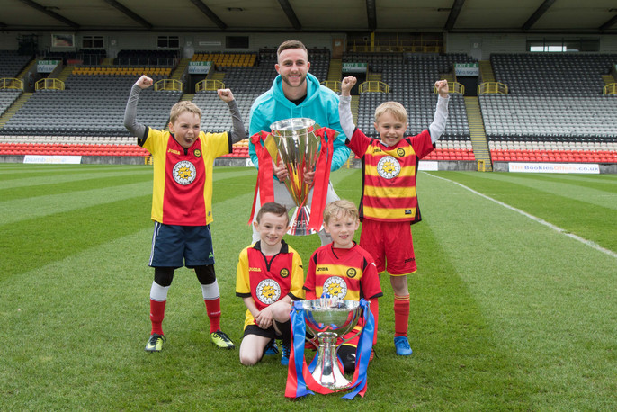 SPFL Trusted Trophy Tour Partick Thistle