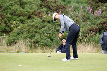 Michelle Wi at the Womens Scottish Open