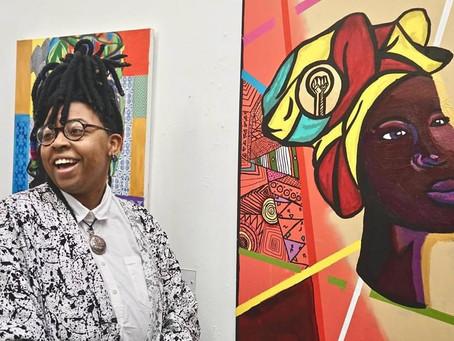 SMUD Art Gallery Black History Exhibition