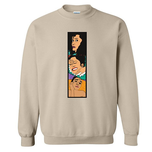 For the Love of TRACEE crew neck