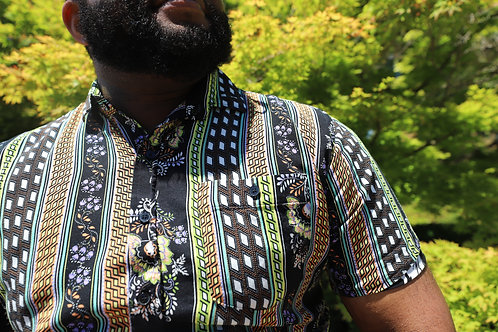 June Bloom Button Up