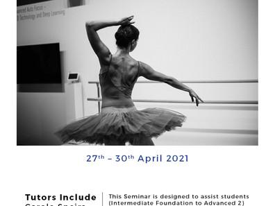 Vocational Seminar 2021 Registrations Now OPEN!