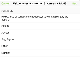ServiceGuru ServiceM8 Risk Assessment Method Statement