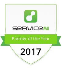 ServiceGuru ServiceM8 Partner of the Year - Shield