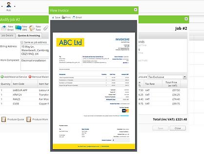 ServiceGuru ServiceM8 Proffesional Invoicing