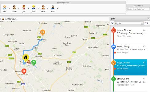 ServiceGuru ServiceM8 GPS Tracking