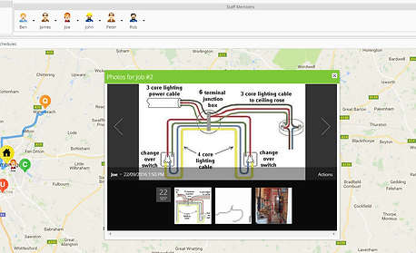 ServiceGuru ServiceM8 Image Capture for electricians